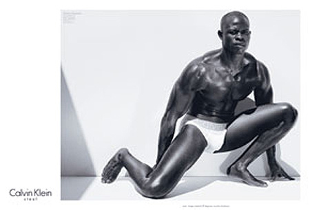 Djimon Hounsou in Underwear