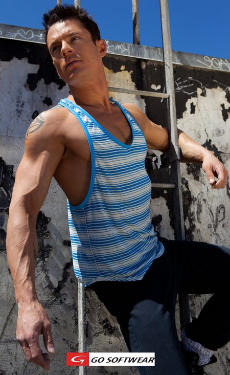 G S Synergy Stripe Tank