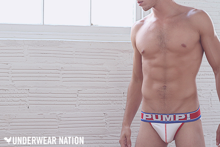 Picture About Male Model Nick Perrelle in Pump Underwear from Underwear Nation's
