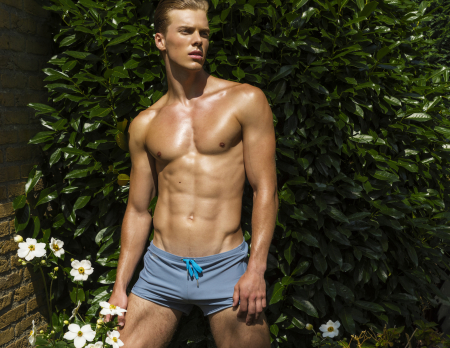 Garcon model swimwear Tuscany collection 7