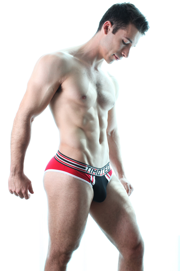 Picture About Male Model Valeri Lliev was Shot by Timoteo Ocampo for this super hot men's underwear collection