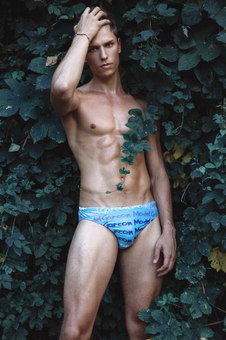 Model Stef van Geleuken shot by Martijns Mouter for Garcon Model underwear - 8
