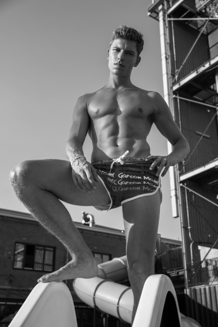 Model Stef van Geleuken shot by Martijns Mouter for Garcon Model underwear - 6