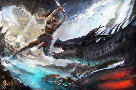 Garc¦ºon Model - Dragon's Hunter