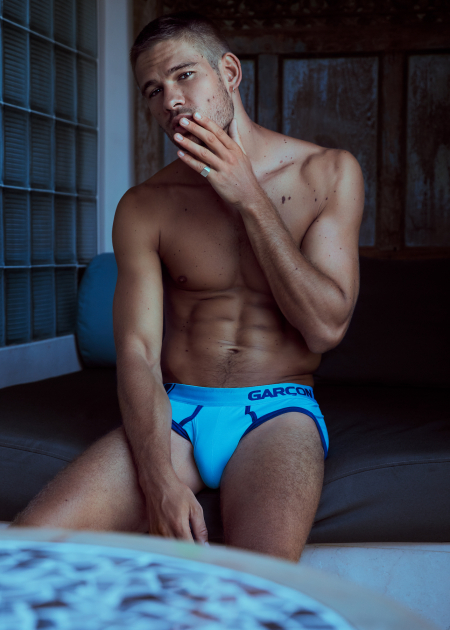 Andi Hulme by Ted Sun for garcon model underwear-4