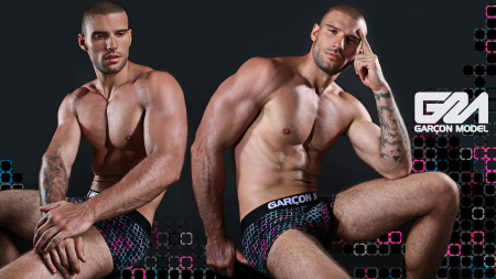Garcon Model Men Underwear Galaxy Collection 9